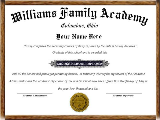 high school diploma template pdf
